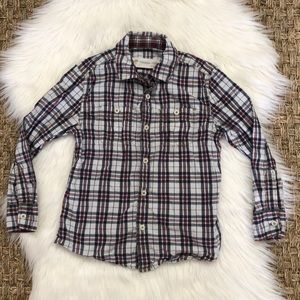 Boys Plaid Button Down Tucker + Tate Shirt 5